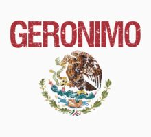Geronimo Surname Mexican Kids Clothes