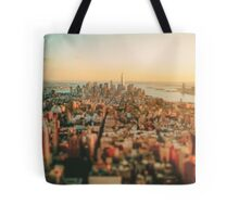 New York City - Skyline at Sunset Tote Bag