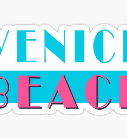 Venice Beach California Vice Sticker