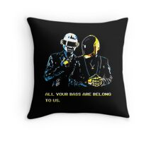 All Your Bass Are Belong To Us Throw Pillow