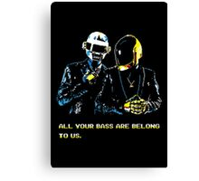 All Your Bass Are Belong To Us Canvas Print
