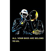 All Your Bass Are Belong To Us Photographic Print