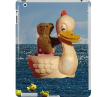Tiny Teddy and Ducky's Voyage of Adventure iPad Case/Skin