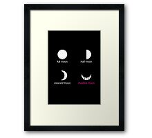 Cheshire Moon Framed Print