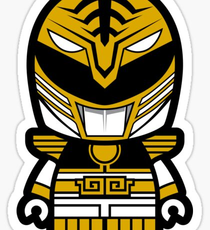 White Ranger Chibi Sticker