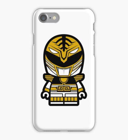 White Ranger Chibi Lego iPhone Case/Skin