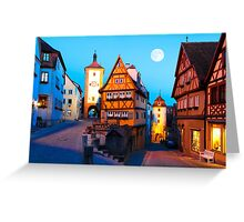 ROTHENBURG OB DER TAUBER 01 Greeting Card