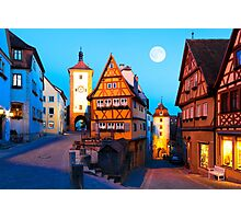 ROTHENBURG OB DER TAUBER 01 Photographic Print