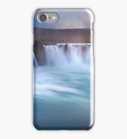 Long Exposure Waterfall Art Prints and Posters iPhone Case/Skin