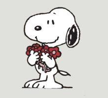 Snoopy Flowers by Jansenist