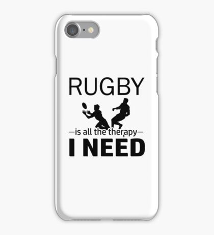 Rugby design iPhone Case/Skin