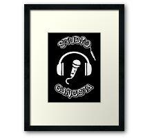 Studio Gangsta Framed Print