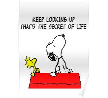 Snoopy Quote Poster
