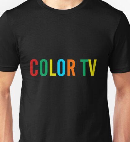 Color TV Unisex T-Shirt