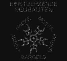 Einstuerzende Neubauten alt. logo. With names. by darqenator