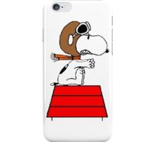 Red Baron Snoopy iPhone Case/Skin