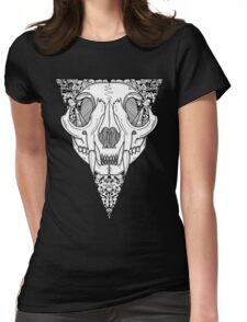 Skull Squad (No Text) Womens Fitted T-Shirt