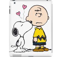 Snoopy loves Charlie Brown iPad Case/Skin