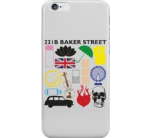 FAVOURITE SHERLOCK MOMENTS iPhone Case/Skin