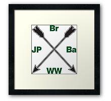 Br Ba JP WW Framed Print