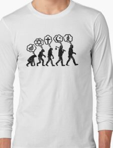 From religion to science Long Sleeve T-Shirt