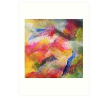 """Dreamscape No.1"" original abstract artwork by Laura Tozer Art Print"