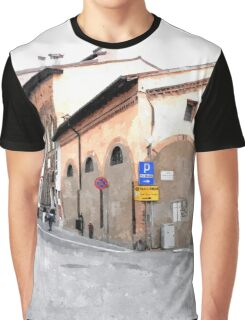 Glimpse with church Graphic T-Shirt