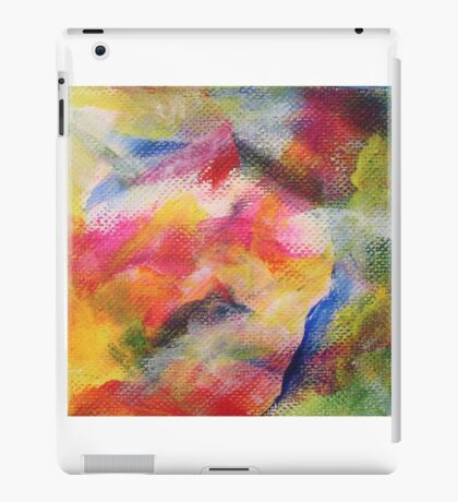 """Dreamscape No.1"" original abstract artwork by Laura Tozer iPad Case/Skin"