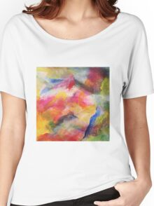 """""""Dreamscape No.1"""" original abstract artwork by Laura Tozer Women's Relaxed Fit T-Shirt"""