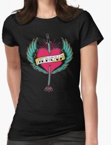 Tribute To Mother Womens Fitted T-Shirt