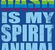 RainbowDash is my Spirit Animal by Penelope Barbalios