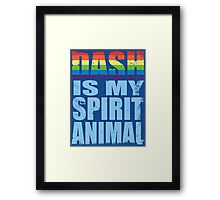 RainbowDash is my Spirit Animal Framed Print