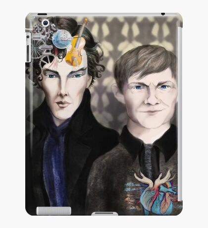 I will solve your crime but John will save you iPad Case/Skin