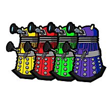 Beware the Daleks! Photographic Print
