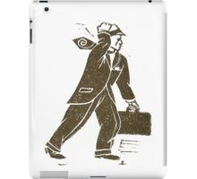 Rush Hour Man iPad Case/Skin