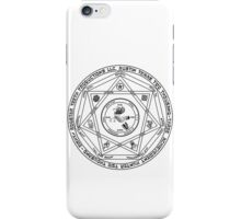 Rooster Teeth Supernatural - RT Demon Trap iPhone Case/Skin