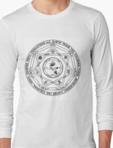 Rooster Teeth Supernatural - RT Demon Trap Long Sleeve T-Shirt