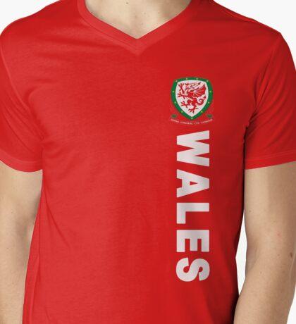 Wales Sport Football  Mens V-Neck T-Shirt