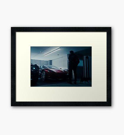 McLaren p1 ft. The Weeknd Framed Print