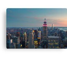 NEW YORK CITY 10 Canvas Print