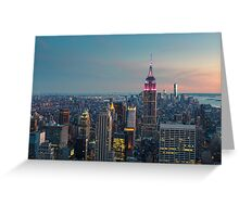 NEW YORK CITY 10 Greeting Card