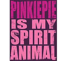 PinkiePie is my Spirit Animal Photographic Print