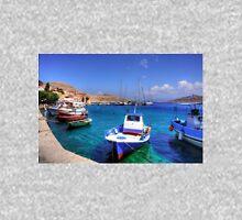 Chalki Fishing Boats Zipped Hoodie