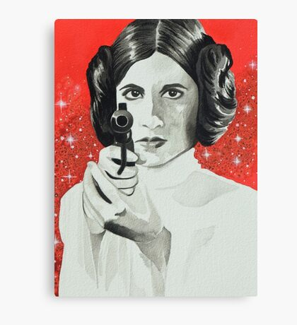 Rebelle Canvas Print