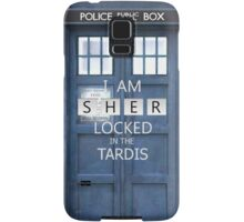 Sherlocked in the Tardis  Samsung Galaxy Case/Skin
