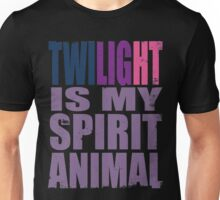 Twilight Sparkle is my Spirit Animal Unisex T-Shirt