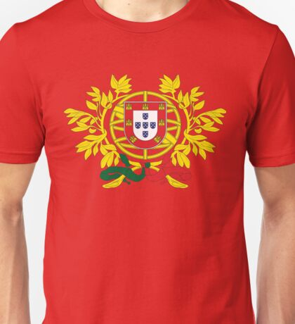 Portugal National Deluxe Game Design Unisex T-Shirt