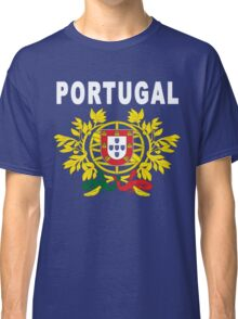 Portugal National Deluxe Jersey Design Classic T-Shirt