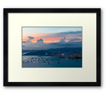 HONG KONG 02 Framed Print