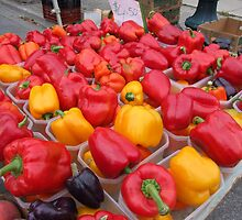 Peppers by Kathy Rogers-Hartley